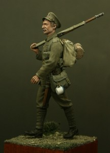 TW54001 – Private, Middlesex Regiment, Mons 1914
