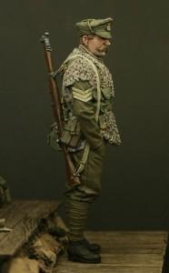 TW54014 – Sergeant, Royal Welsh Fusiliers, Ploegsteert 1915