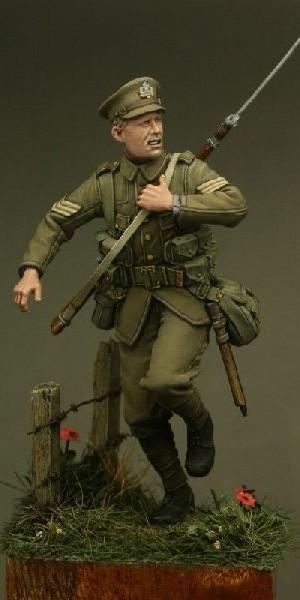 TW54006 – Sergeant, Suffolk Regiment, Le Cateau 1914