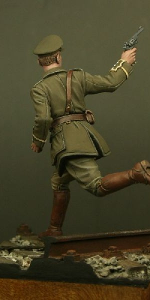 TW54004 – Captain, Royal Fusiliers, Mons 1914