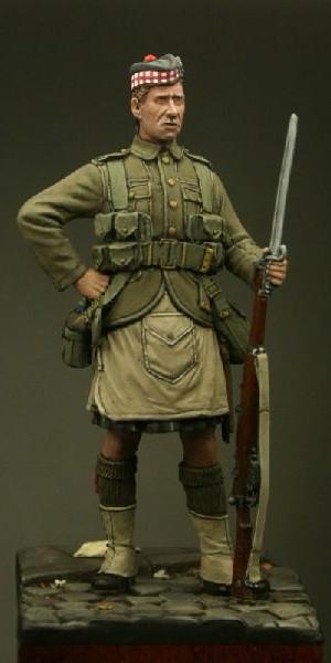 TW54005 – Private, The Gordon Highlanders, Le Cateau 1914